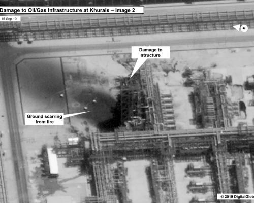 沙特聯軍及美國都指石油設施遇襲與伊朗有關