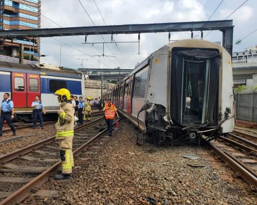 【港鐵出軌】指事故非常嚴重 陳帆:出事原因不排除任何可能性