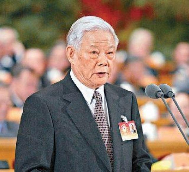 原全國政協副主席、廣東原省長葉選平在廣州逝世。網上圖片