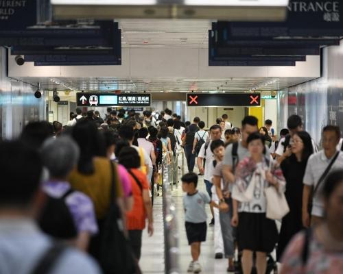 【港鐵出軌】運輸署:旺角東至紅磡列車今日餘下時間暫停 個別車站較繁忙