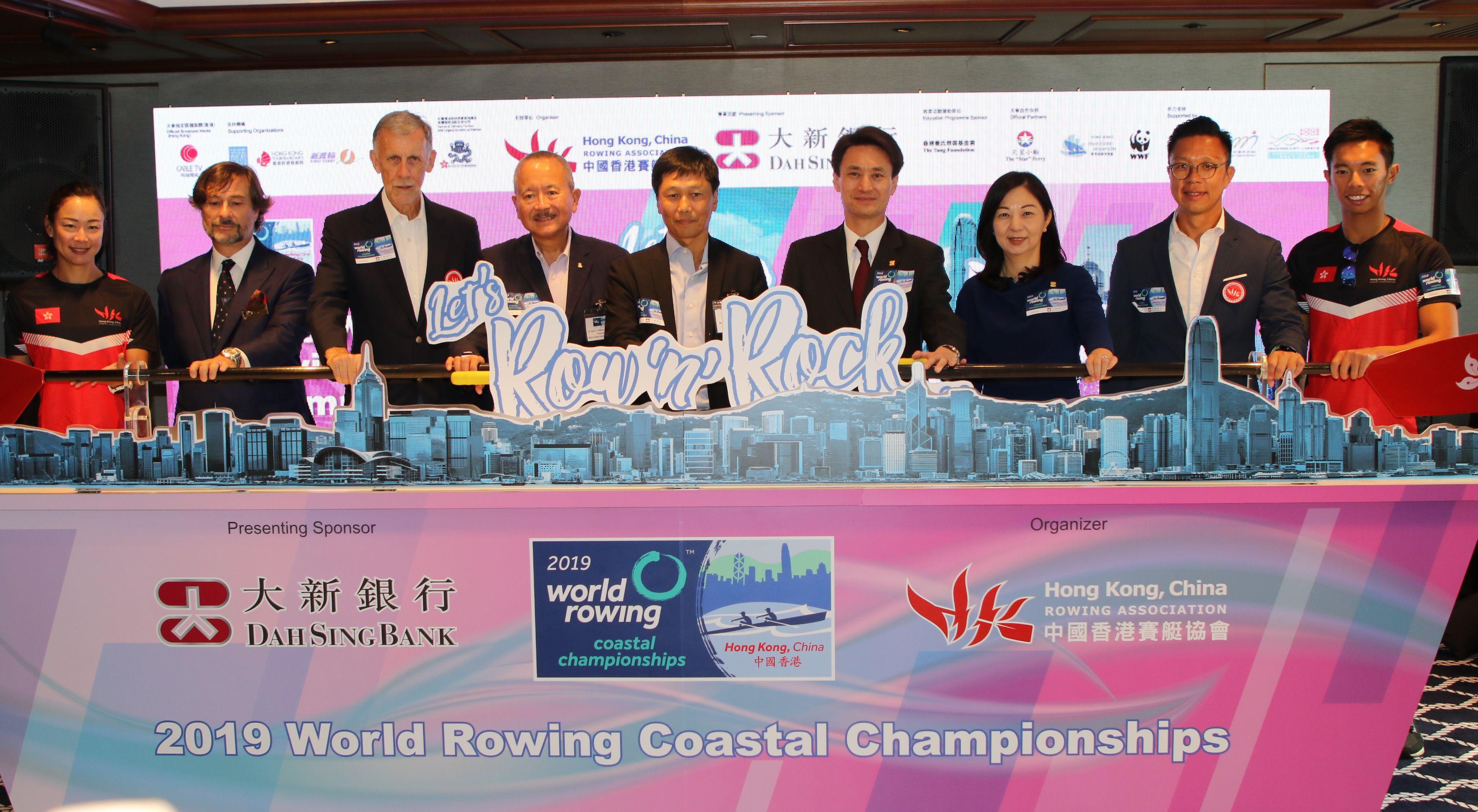 世界海岸賽艇錦標賽十一月首度落戶維港。王嘉豪攝