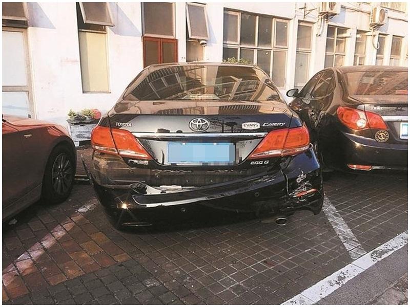 順德男子酒後駕駛連撞9車逃逸,已被警方逮捕。示意圖