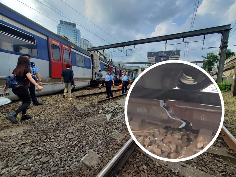 梁志成指,由於事發在早上,加上路軌出現裂紋,估計有機會於港鐵通車初段路軌出現問題。