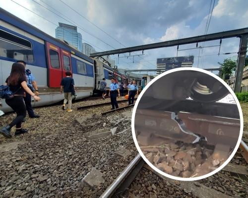 【港鐵出軌】業界指出軌疑涉「鴨脷」尖軌鬆脫