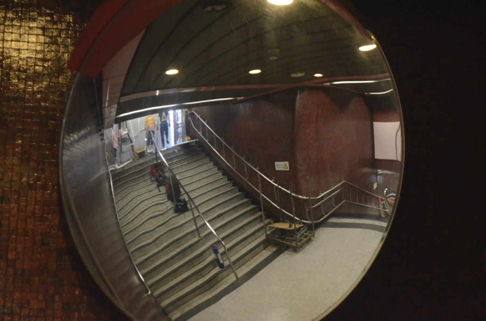 太子站B1出口再被封。