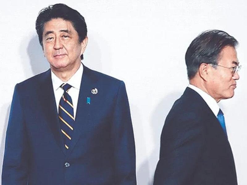 南韓正式將日本剔出容許簡化出口手續的「白名單」。(資料圖片)