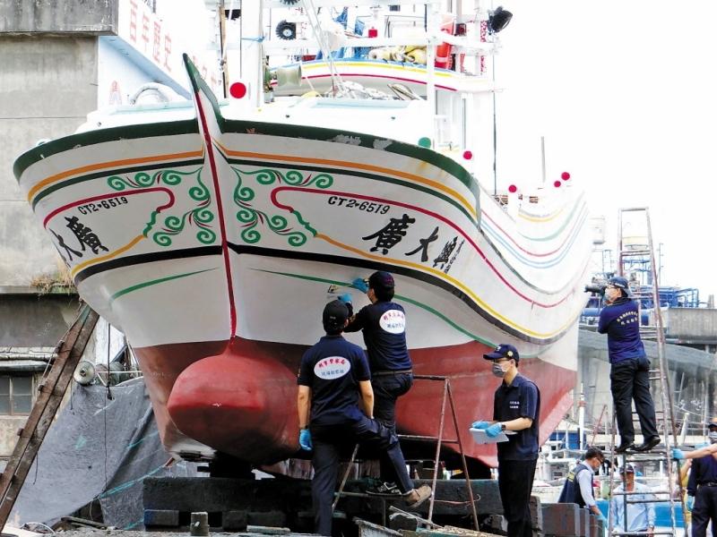 台灣漁船廣大興號遭射擊案,8名菲律賓海防隊員判刑8至14年。(資料圖片)