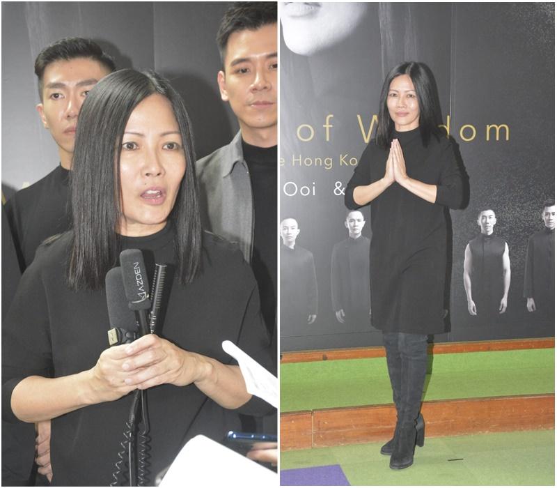 佛教音樂家華黃慧音宣布11月8至10日在演藝學院舉行3場《淨世慧音演唱會》