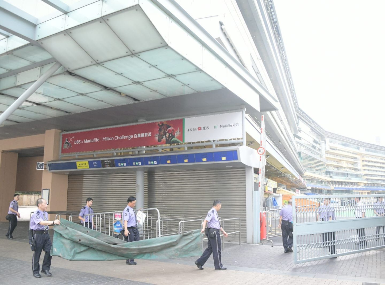 香港賽馬會決定取消今晚所有賽事。