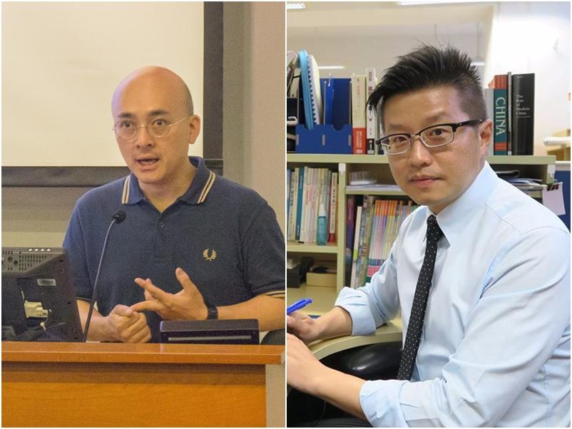 賴得鐘(左)、戴健暉(右)。資料圖片