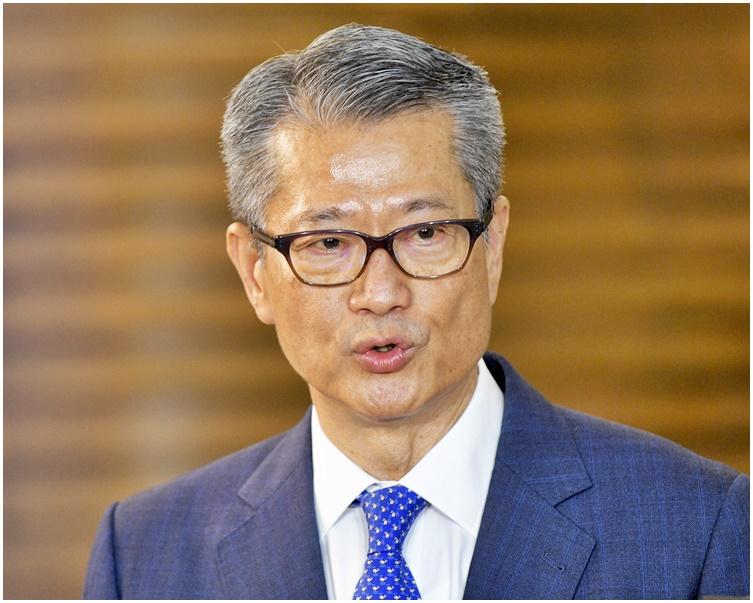 陳茂波指香港不需要怕競爭,最怕自己不爭氣。資料圖片