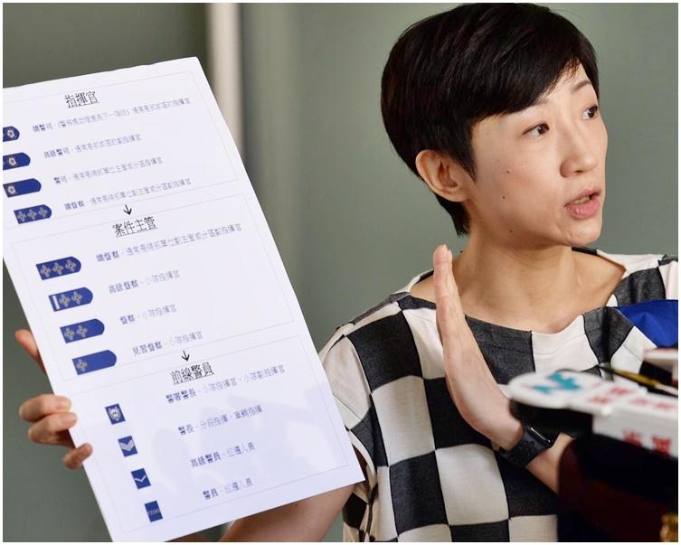 陳淑莊透露女事主已向警方發出律師信,要求刑事調查事件。