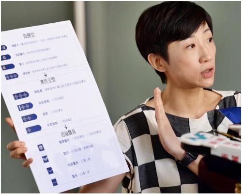 【修例風波】陳淑莊:報稱遭裸體搜身女事主向警發律師信