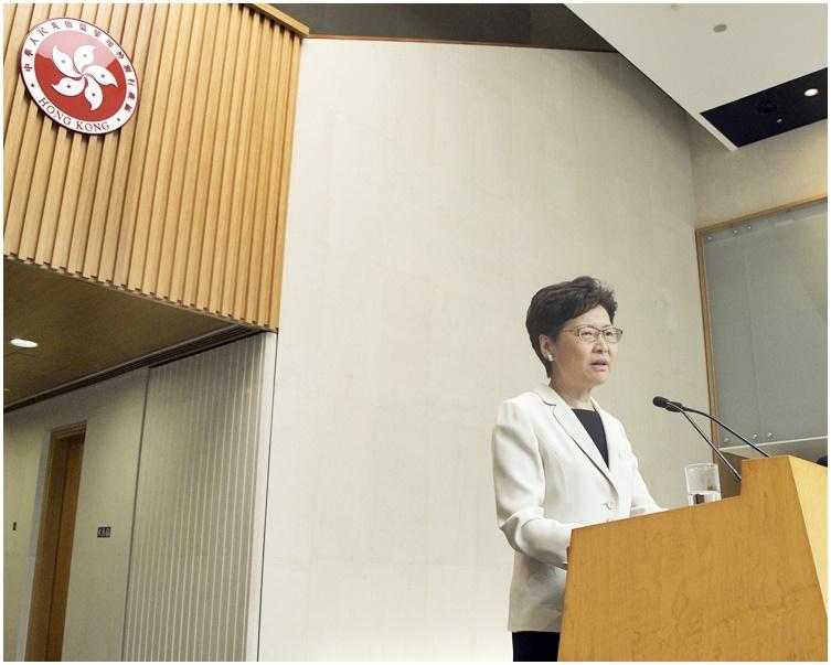 本報獲悉,林鄭月娥首場社區對話將於下周四晚上舉行。資料圖片