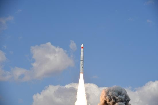 「珠海一號」03組衛星發射升空,已順利進入預定軌道。 網圖