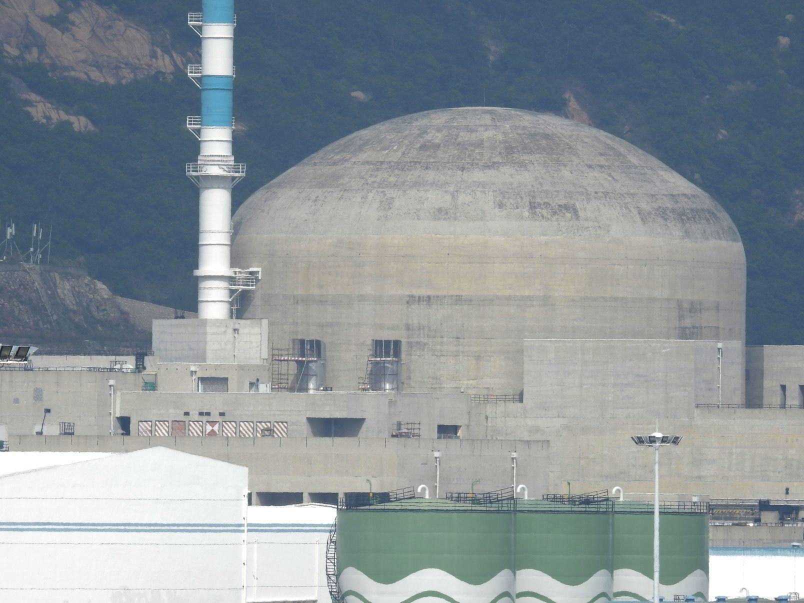 台山核電站。