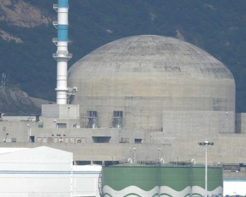台山核電站周二有機組短暫故障 被評為「0級」事件