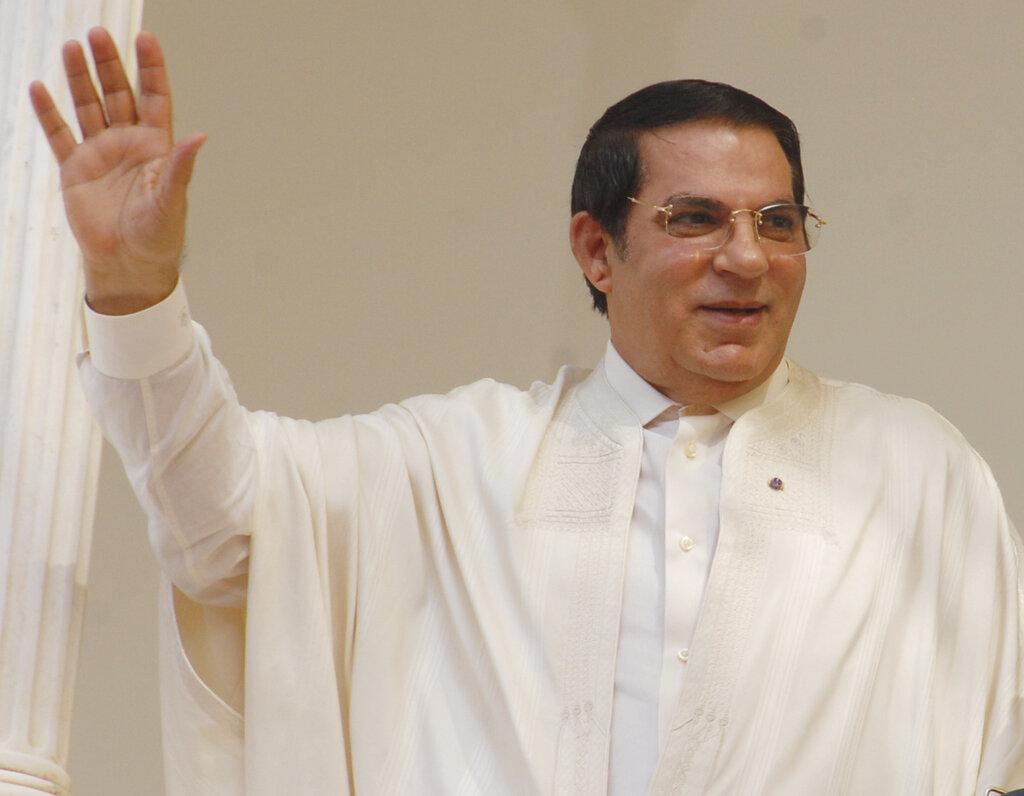 突尼斯前獨裁總統本阿里在沙特阿拉伯去世,終年83歲。AP