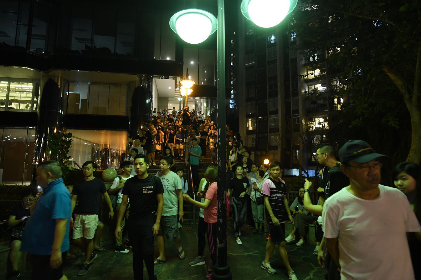 【修例風波】網民發起「太古城全民運動日」 步行往鰂魚涌公園