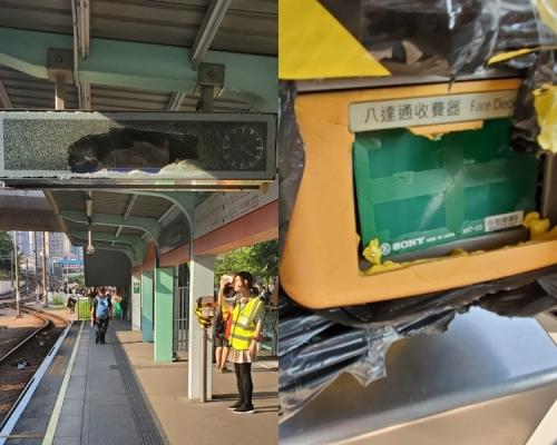 【修例風波】港鐵:元朗及屯門輕鐵 全部暫停服務