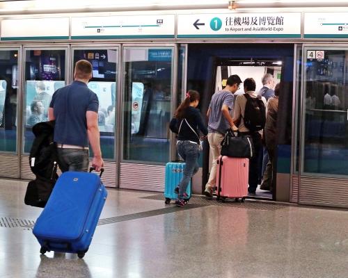 【修例風波】機場快線明只停香港站及機場站 10分鐘一班車