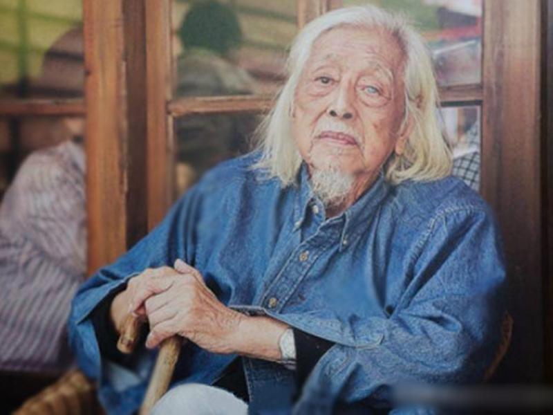 有「台獨教父」之稱的史明,昨晚在台北去世,終年103歲。 網圖