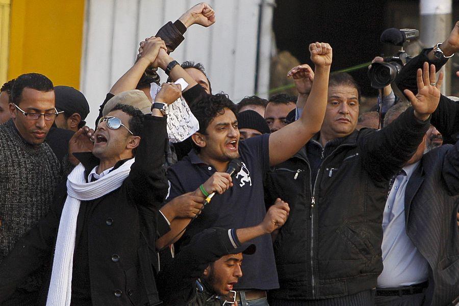 埃及近日爆發罕見的反政府示威。