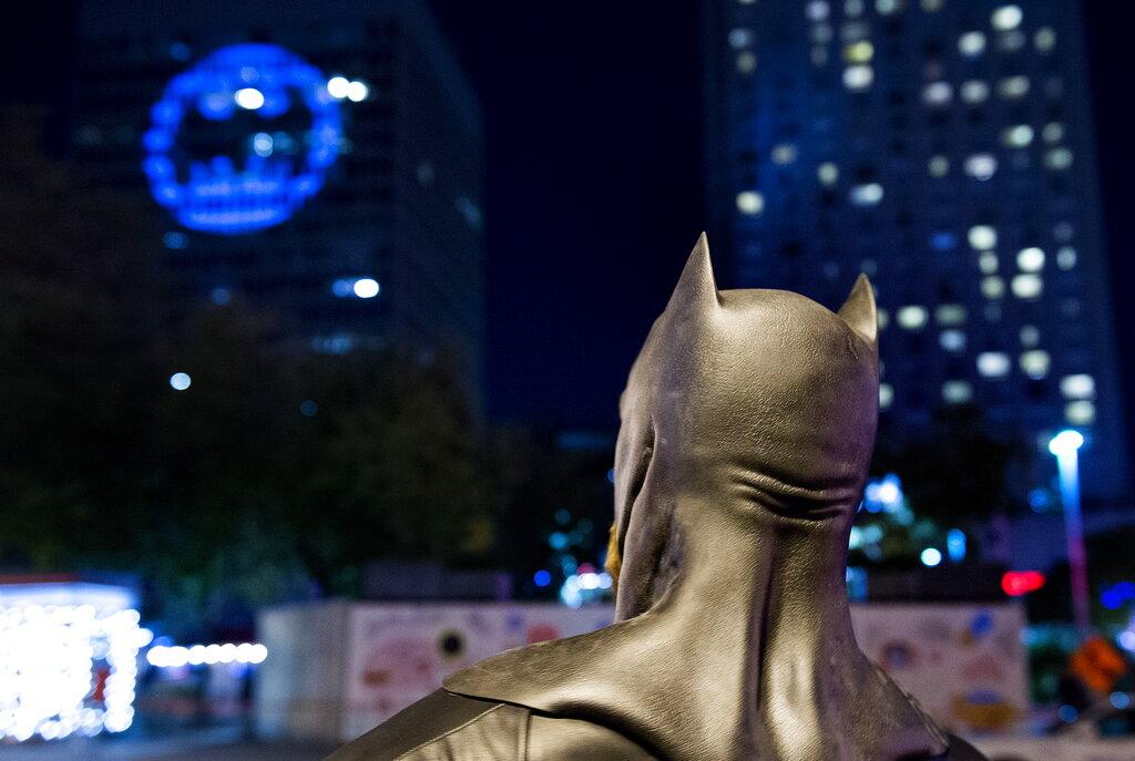 加拿大蝙蝠燈。AP