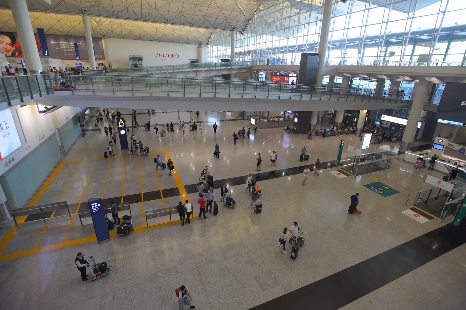 機場運作未受影響。