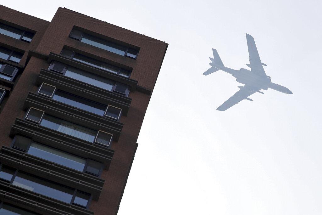 大飛機。AP