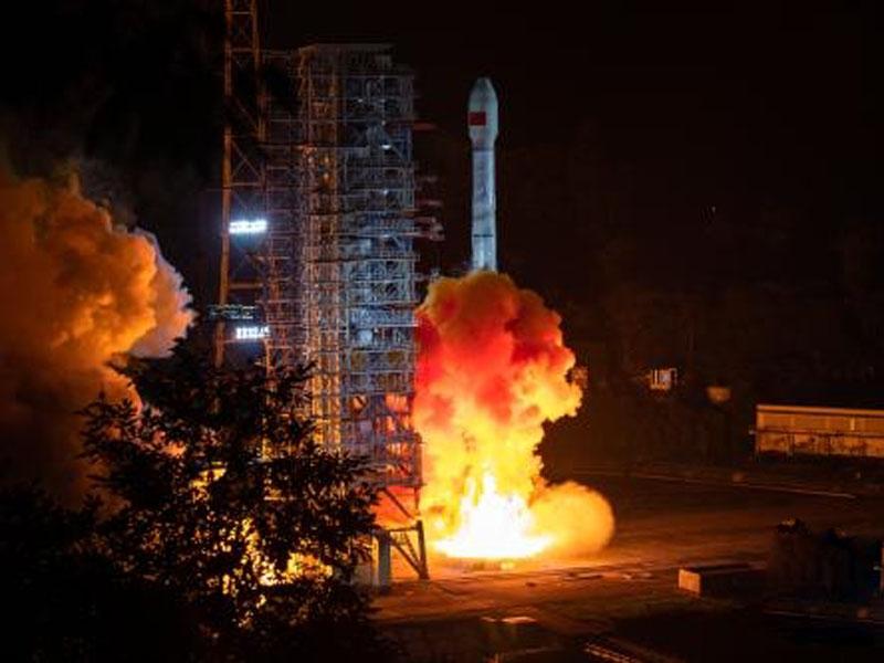 北斗三號今年首「雙星發射」成功。(網圖)