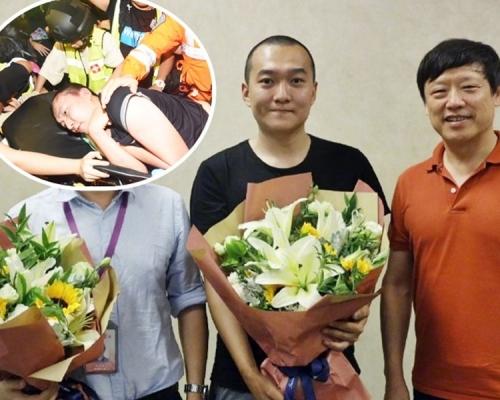 【修例風波】付國豪獲《環球時報》表彰 頒10萬元「最高獎」