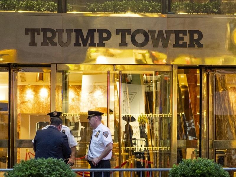 特朗普大樓住宅失竊,被偷走35萬美元珠寶首飾。AP
