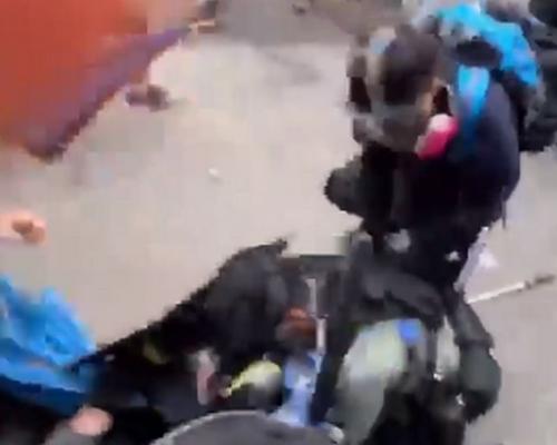 【修例風波】斥示威者圖搶槍 警作最嚴厲警告:後果自負