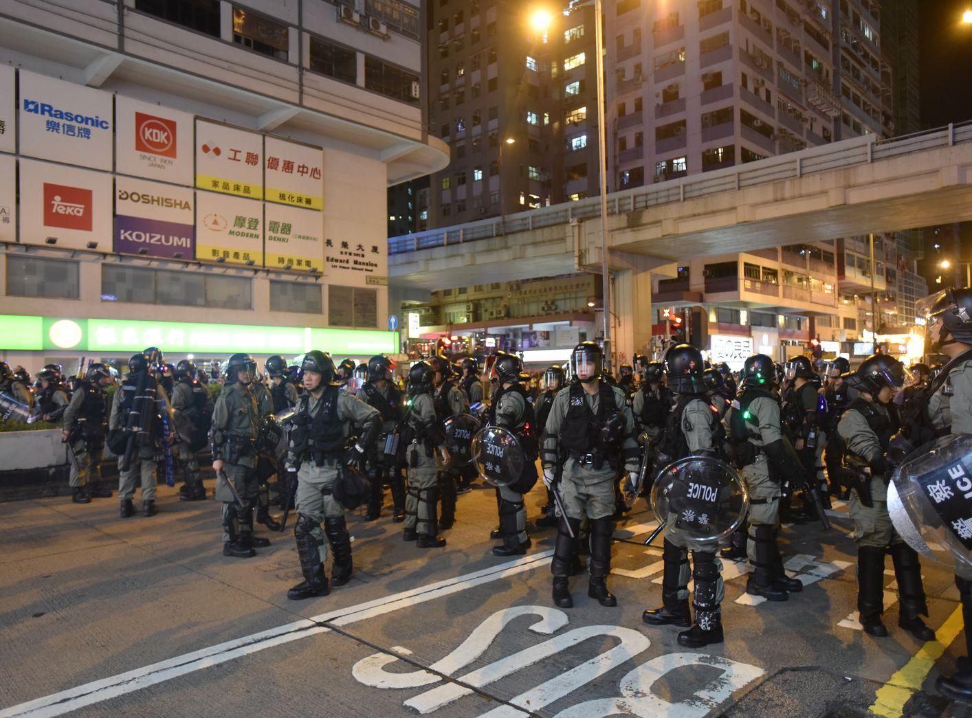 江永祥重申警方的拘捕準則是不考慮身份及政見。資料圖片