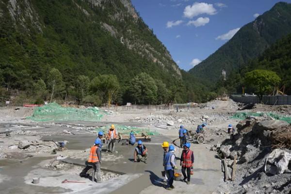 九寨溝景區災後重建。網圖