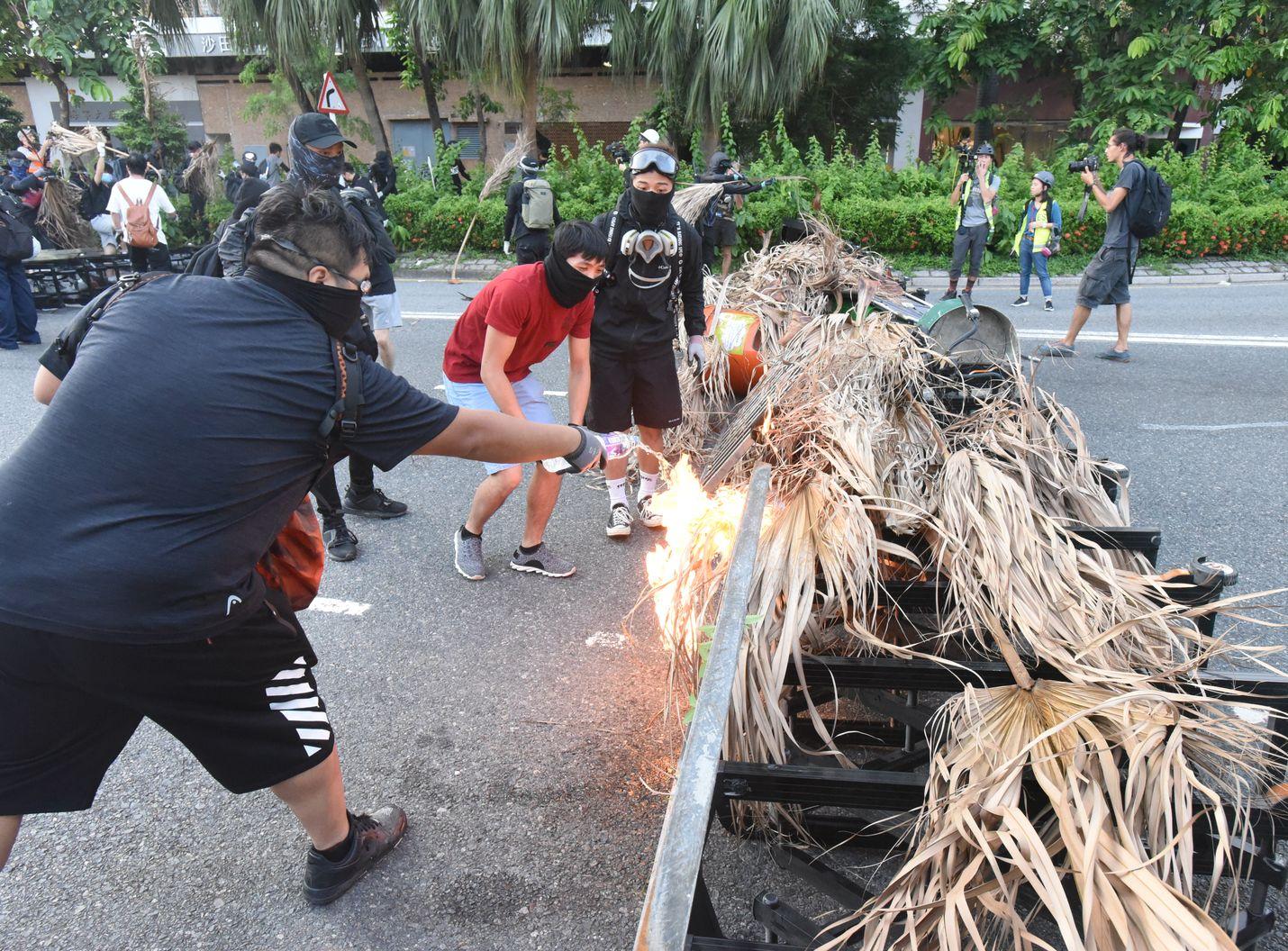 社會示威活動仍未平息。資料圖片