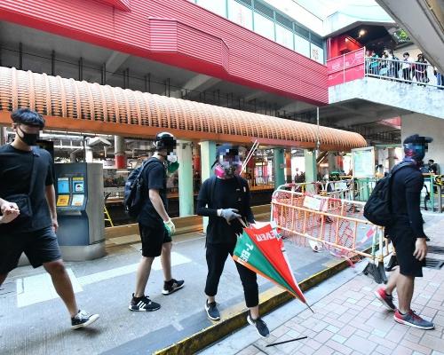 【修例風波】屯門上周六示威28歲被捕男子疑染愛滋病