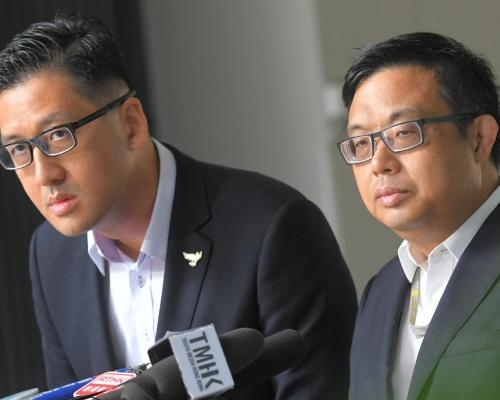 【鄺俊宇遇襲】民主黨:全程有人攝錄有預謀 質疑涉及買兇