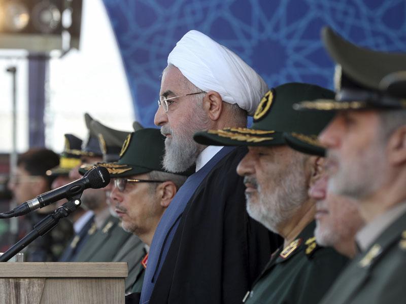 伊朗總統魯哈尼。AP