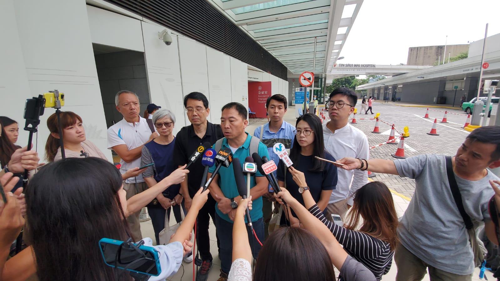 胡志偉表示,以有組織方式拳打腳踢政見不同的人,行為絕不能接受。