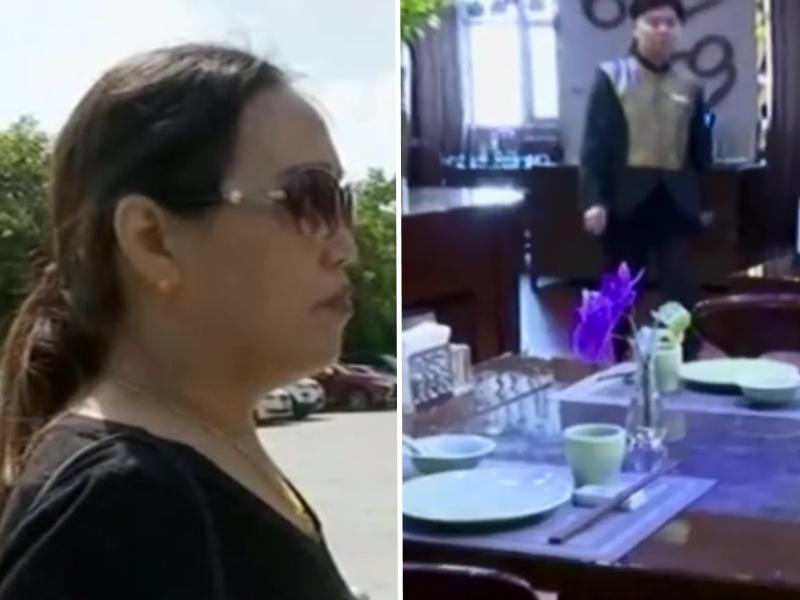 杭州一名酒店餐廳服務員因打包了一盒客人吃剩的河粉回家而被開除。 網圖