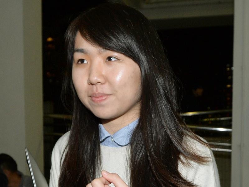 香港大學學生會前會長孫曉嵐遭起訴。資料圖片