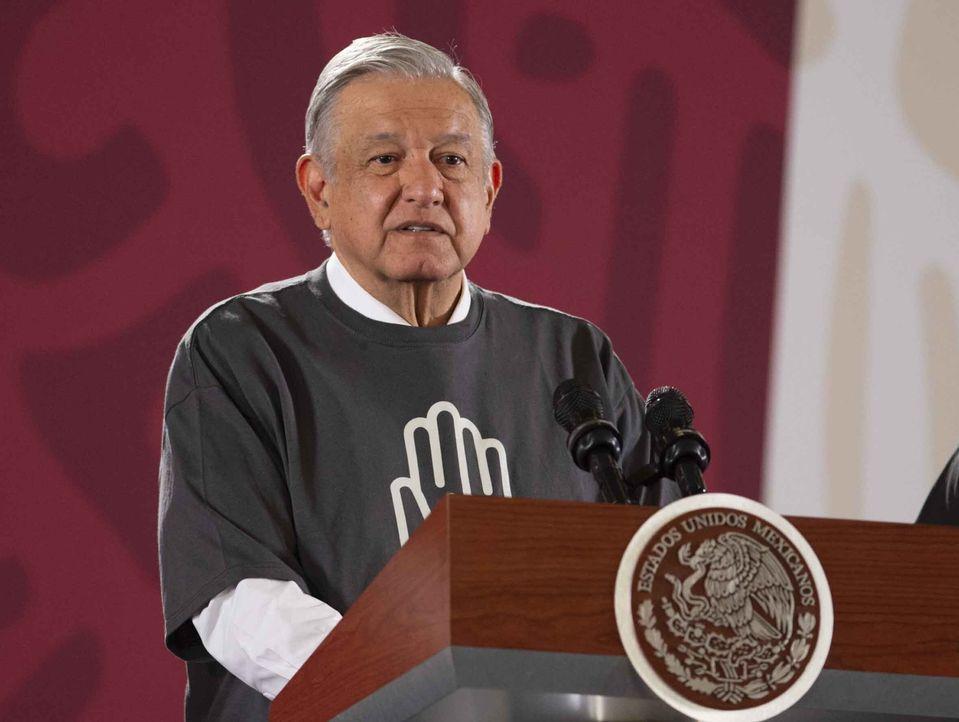 洛佩斯說應該把該豪華專機賣給美國總統特朗普。AP