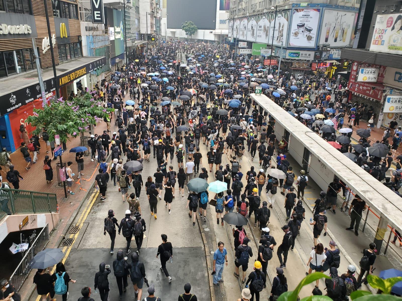 民陣相信無論是否獲發不反對通知書,明日都會有大規模示威活動。