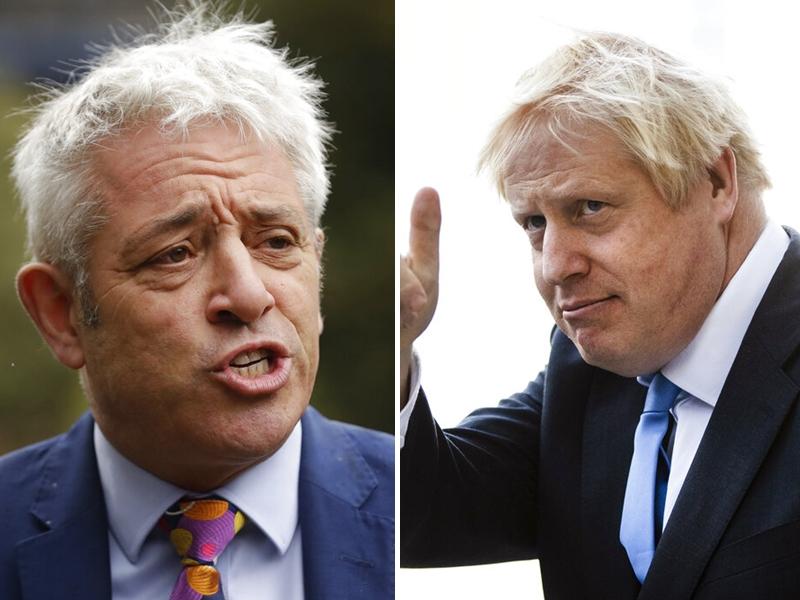 一批反對脫歐的國會議員欲把約翰遜拉下台,由白高漢暫代首相一職。 AP