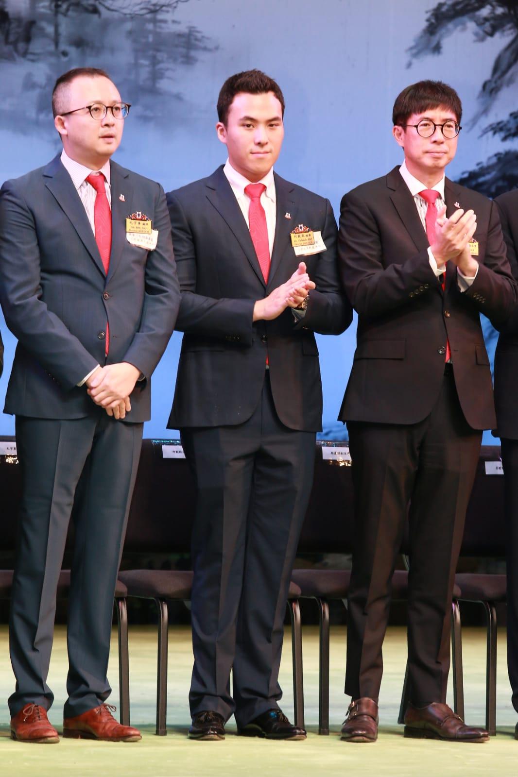 何猷啟身為東華總理亦現身支持。