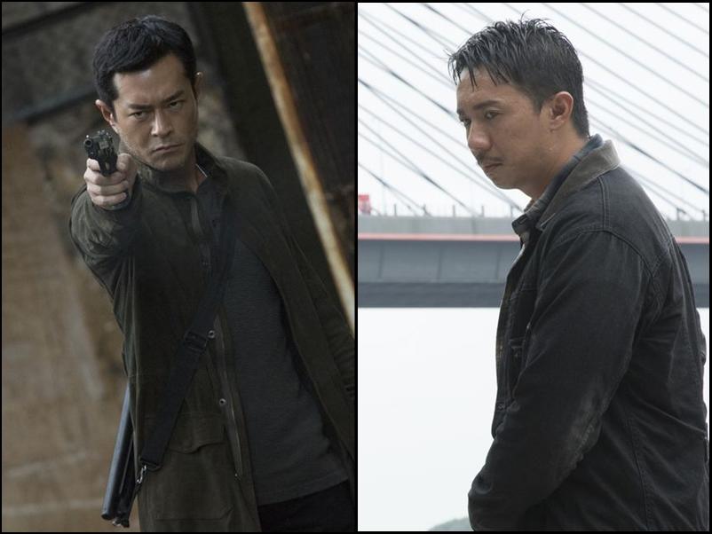 古天樂及張繼聰等主演的懸疑電影《犯罪現場》。