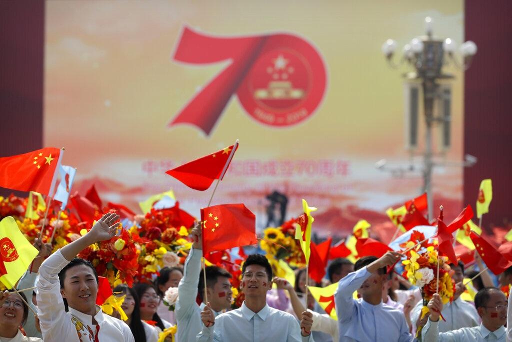 全球民眾對中國的形象普遍出現惡化。AP圖片