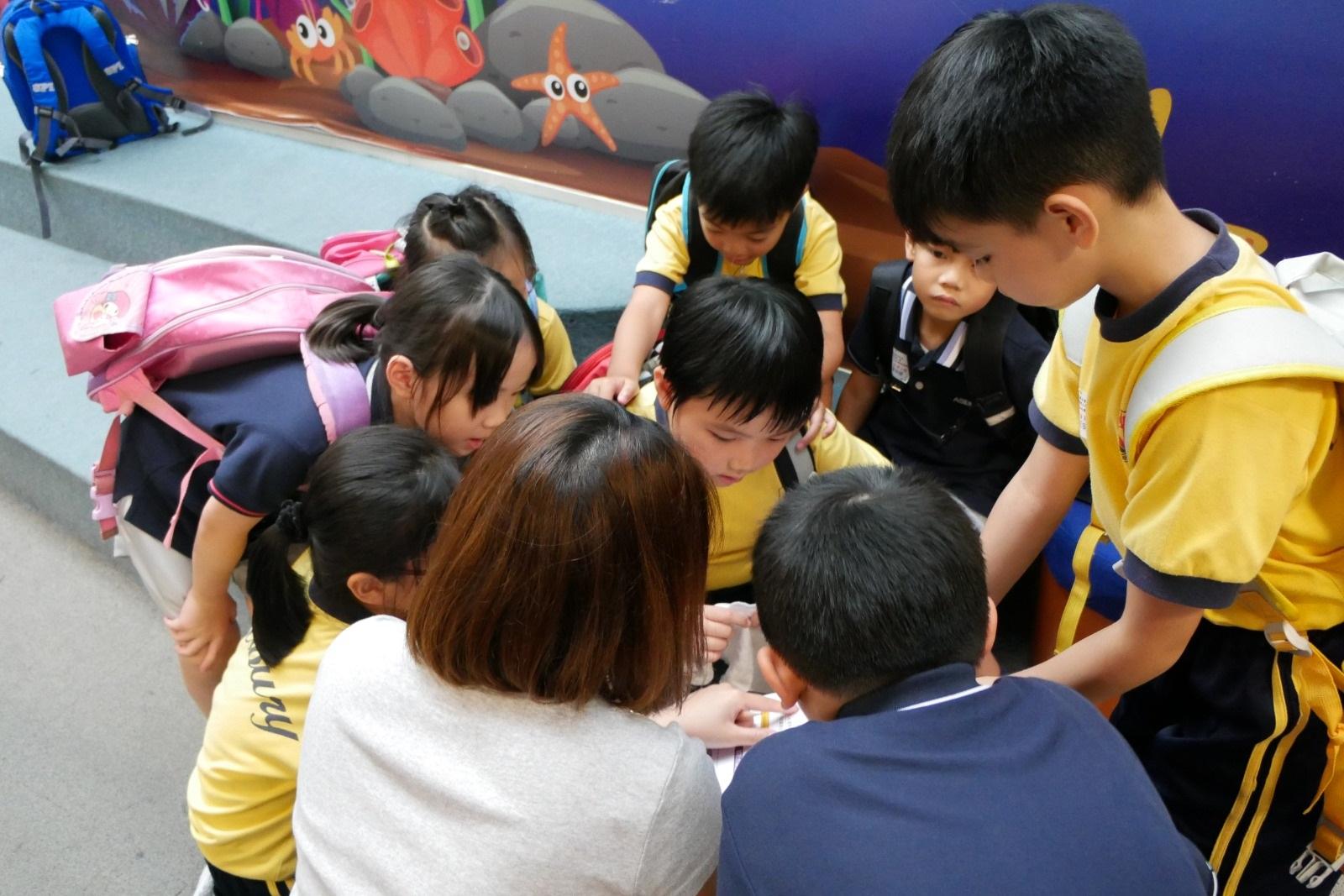 從參與小組合作過程中,鍛煉同學的解難能力。(圖片由校方提供)